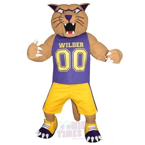 Cougar-Mascot
