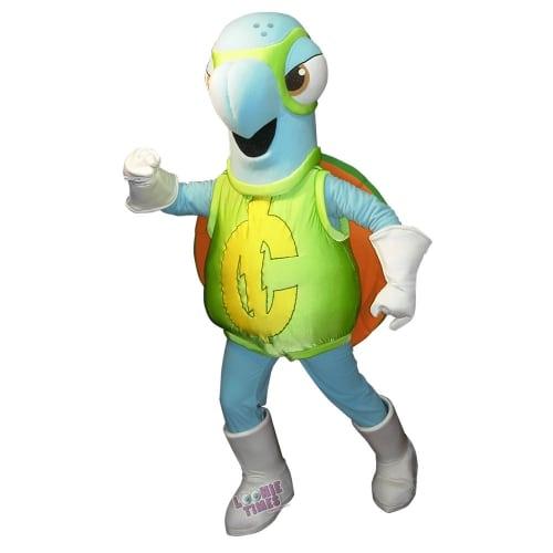 DNA-creative-GreenBack-Turtle-Mascot