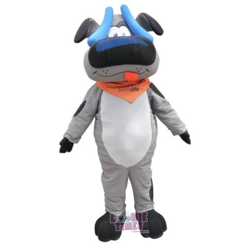 Family-Life-Flin-Dog-Mascot