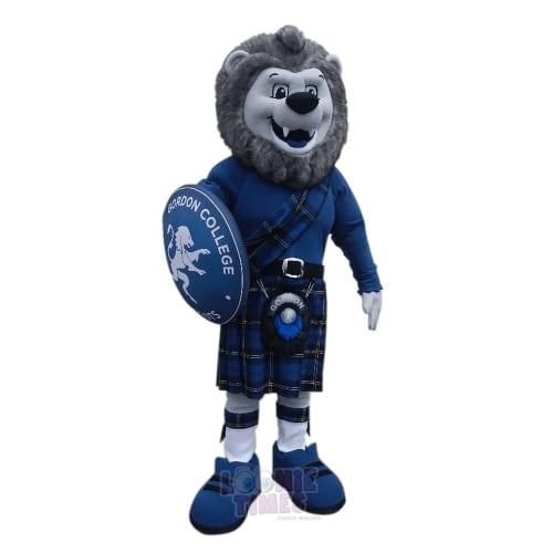 Gordon-College---Rampant-the-Lion-Mascotin