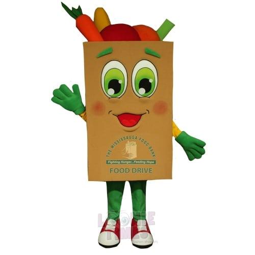 GroceryBag-Mascot