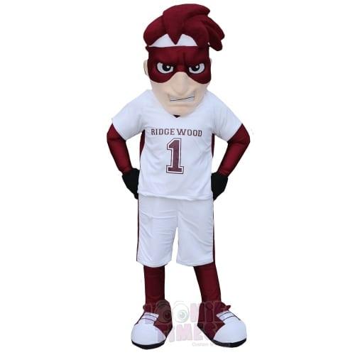 Maroon-Man-Mascot