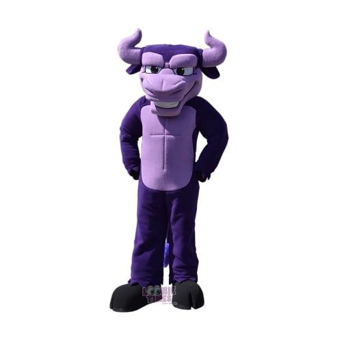Monta-Vista-HSpurple-Bull-Mascot