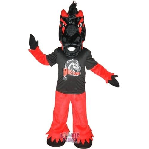 Mundelein-HS-Mustang-Horse-Mascot