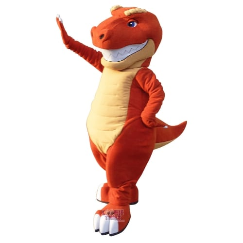 Museum-of-Rockies - Monty-Dinosaur-Mascot