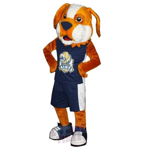 SaintBernard-Dog-Mascot