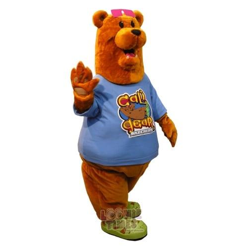 Skechers Cali-Bear-Mascot