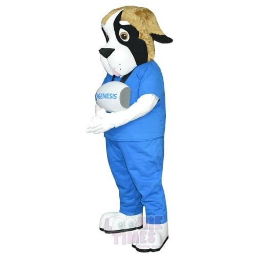 St-Bernard-Dog-Mascot