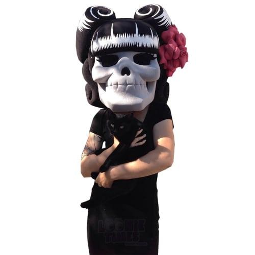 Suavecita-Skull-Mascot