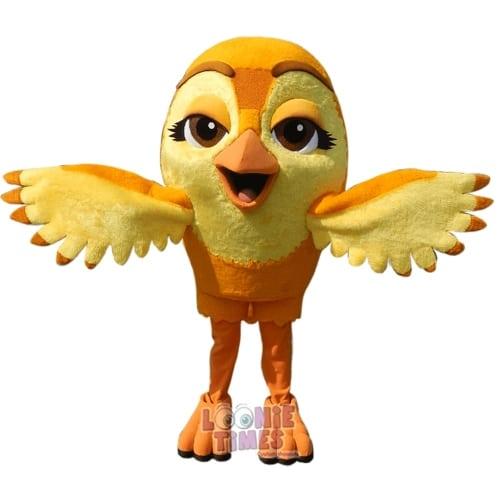 Venator-Promotions---Gold-Bird-Mascot