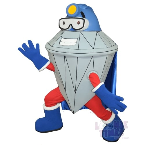 Victor-Mine-Diamond-Mascot